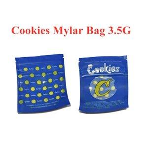 COOKIES California SF 8th 3.5g Mylar Childproof BagsSTONER PATCH DUMMIES Candy Bags write runtz Gelatti Cereal Milk Gary Payton Bags