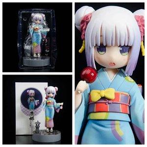 Miss Kobayashi's Dragon Maid Kanna Kanna Kamui Figura de acción 1/8 Escala Pintado Figura Kimono Versión PVC Figura Juguete Brinquedos Anime X0121