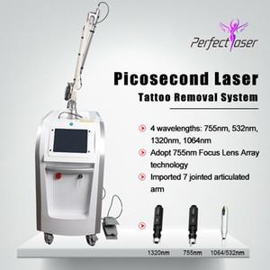 2020 Neueste Pico Laser-Narben Entfernungsmaschine Laser-Tattoo entfernen Qswitch Nd Yag Lazer Picosecond Lazer Machine Pico Laser Beauty Equipment