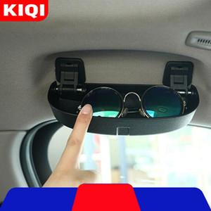 Car Glasses Holder Glasses Case Fit for BMW X5 X6 F15 F16 2014 - X5 G05 X7 G07 Car Sunglasses Box Storage Holder 201104