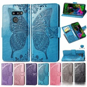 For LG G8 ThinQ Flip Leather Cases For LG V50 Thinq 5G Case With Wallet Back Cover For L G G7 Thinq Cover