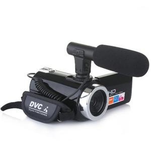 4K للرؤية الليلية 3.0 بوصة شاشة تعمل باللمس كاميرا 18x التكبير الرقمي مع مايكرو HD كاميرا DV1