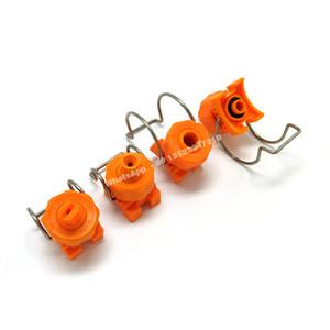 YS clip nozzle,clamp nozzle,adjustable ball clip clamp eyelet nozzle,adjustable ball full cone spray nozzle