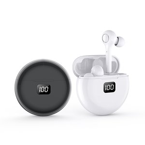 Wireless Earbuds, Bluetooth 5.0 Headphones Hi-Fi Stereo Bluetooth Earbuds in-Ear True Wireless Airbuds with Mic Headset for Work Travel Gym