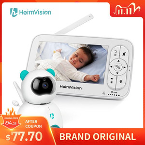"""HeimVision HM136 Video Baby Monitor 5"""" LCD Display 720P HD Security Camera with 110° Wide Angle Two-Way Audio Night Vision"""
