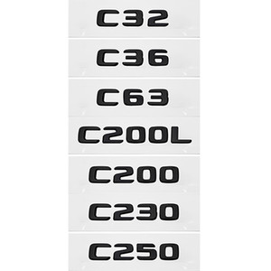 Car Sticker Plastic Accessories Exterior Decal Decoration for Mercedes Benz C32 C36 C63 C200L C200 C230 C250 W203 W205 W176 W168