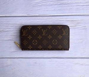 ER portefeuille R1 Femmes Wallet Sac Zipper Femme Designer bourse de portefeuille de Porte-cartes de mode de poche Femmes Long Sac NO BOX vWASER