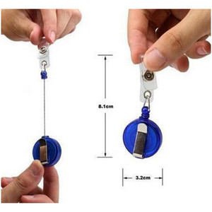 Retractable Lanyard Id Card Badge Holder Reels With Clip Keep Key Cell Phone Keycha sqcFQK new_dhbest