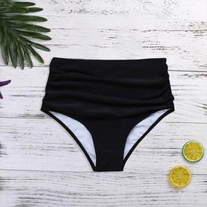 Swimsuit Underwear Summer Women High Waisted Bikini Swim Pants Shorts Bottom Swimsuit Swimwear Bathing Beach Wear Biquini 45