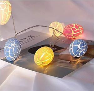 Bunte 10 leichte Lampe String Streifen Cloud Conch Muster LED String Beleuchtung Geburtstag Home Living Party Decor Heißer Verkauf 7 5gc N2