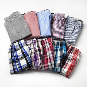 Size Masculino Masculino Underwear Shorts Soltos Homens Pugilistas Cotton Cuecas Boxer Masculino Respirável Mens Tronco Underwears Homem 10pcs1