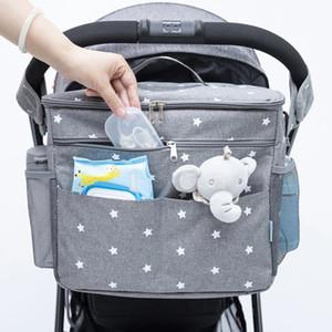 Sacs à couches de bébé orzbow pour sac à dos de maternité sacs de grande capacité Sacs Organisateur Baby Poussette Sac Maman Sac Nappy Seut pour maman Care J1221