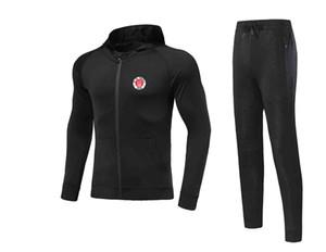 20/21 FC St. Pauli Chaqueta de fútbol Jersey Pantalón de fútbol adulto Juego de fútbol de invierno Chaqueta de hombre Jacket Trajes de cálido