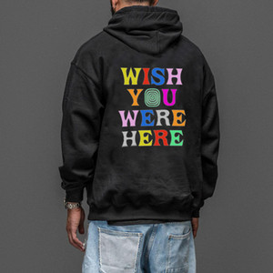 Mens O-Neck Pullover hoodie Women Clothes Fashion Casual Hoodies Lovers Travis Scott Astroworld Print High Street Sweater Hoodie
