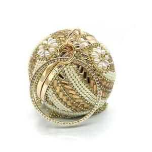 حار بيع الذهب فضة كريستال شرابة حقيبة الكرة الأزياء حقيبة مأدبة مزاجه السيدات السهرة البسيطة الفاصل حقائب والمحافظ