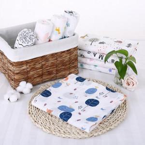 Muslin baby swaddle Blanket Newborn Wrap Swaddling Wraps Bath Towel Y201001