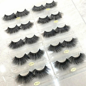 Real 25mm Mink Lashes Eyelashes Natural False Eyelashes Makeup Set Eyelash Extension
