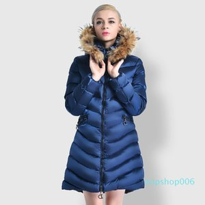 Top Fashion Famous Classic Women's Down Parker Coat Down Jacket for Women Thicken Outdoor Sports Cold Warm Fast Shipping