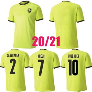 2020 2021 Czech Soccers Jersey Husbauer Kaderabek Camisas de futebol Uniforme Tailândia Skoda Soucek Jankto 20 21