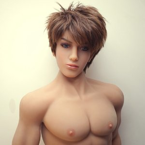 Real Silicone Male Sex Doll With Penis 160cm High Quality Full Body Muscle Men Gay Sex Dolls For Women