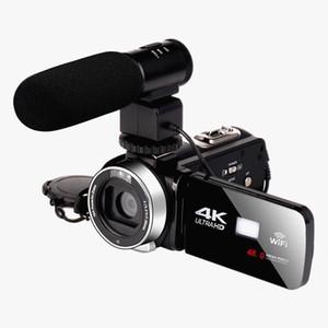 4K HD 나이트 비전 48MP 홈 와이파이 라이브 캠코더 DV 디지털 카메라 StyleMicrophone