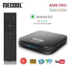 MECOOL KM9 PRO ATV 2G 16G / 4G 32G Android 9.0 TV Box Amlogic S905x2 Dual Wi-Fi Smart TV Box