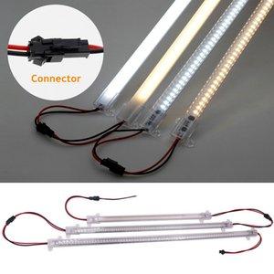 30cm   40cm Super Bright Rigid LED Strip Lights Fluorescent Floodlight Tube Bar Showcase Strip Lamp 220V
