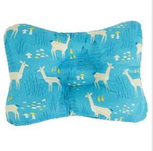Кормящая подушка младенческая новорожденная поддержка сон вогнутая мультфильм подушка для печати формированная подушка предотвращает плоскую детскую установку подушки моря EEB4280