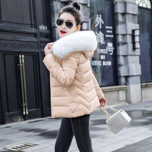 Fashion-Fashion women 2020 New Arrival Slim Parkas New Plus size For Women's Cotton Down Parka With Hooded Coat Warm Winter Jacket Women