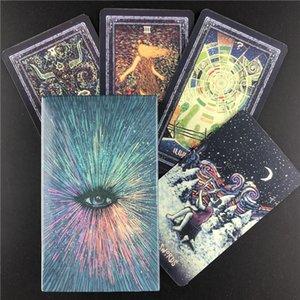 New Tarot Cards Inglês Versão baralho de tarô e cartões de Oracle Oráculos Adivinhação Destino jogo Playing Card Board Games Entertainment yxlLzx