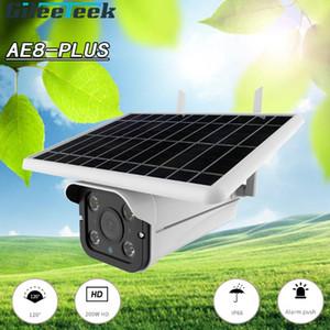 Камеры 4G Беспроводная Поддержка AP Режим Солнечная Камера 1080P Металлическая оболочка Открытый CCTV Наблюдение Водонепроницаемое обнаружение движения