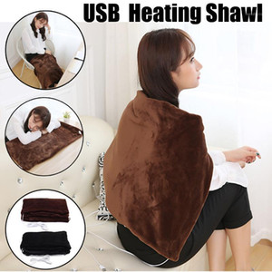 Electric Warming Heating Blanket Pad Shoulder Neck Mobile Heating Shawl Soft USB 5V Ourdoor Indoor Heated Shawl for Home Car1