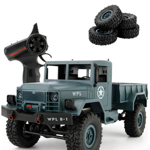 WPL B-14 RC Truck Remote Control Climbing Off-Road Vehicle Toy 2.4G Hobby Military 4 Wheel Drive Car RTR Spare Parts DIY KIT B-1 201209