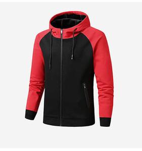 Casual Mens Autumn Winter Jacket 2021 New Arrival Men Sports Jackets Fashion Streetwear Active Coat Clothing