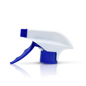 28 410 28 400mm neck white and blue gun trigger sprayer for garden , cleaning ,PP plastic trigger sprayer pump