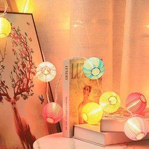 Creative Famiglia LED String Light, Solar Powered Outdoor Interoor Lantern Shape Pendant Pendant Day Decorazione della decorazione del giorno di Natale