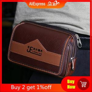 Pocket Bag Wallet Phone Holder Waist Universal Belt Men Pouch Card Case Cover Qxpnc