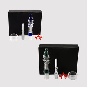 10mm 14mm Joint Domeless Titanium Tip Real Quartz Tip Concentrate Mini Oil Rig Glass Bongs Smoking Pipes