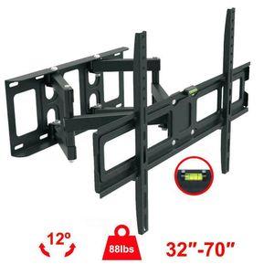 Tam Hareket HDTV TV Duvar Montajı VESA Parantez 32 42 46 50 55 60 65 70 inçlik LED LCD
