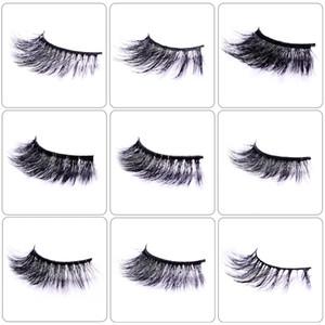3D Soft Mink Eyelashes Fluffy Lashes Custom Private Label False Eyelashes Natural Fash Eyelashes Extension