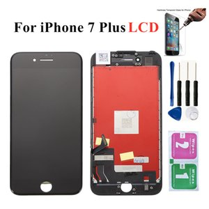 Mobile Phone Accessories For iPhone 7 Plus A1661 A1784 Display 3D Touch Digitizer Assembly No Dead Pixel LCD Screen