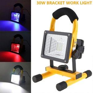 Lâmpada de trabalho da espiga de 30 W LED Portable Lantern Camping Luz LED Portátil Spotlight Light Light Light Spotlights