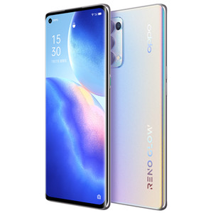 "Original OPPO Reno 5 Pro 5G Mobile Phone 12GB RAM 256GB ROM MTK 1000+ Octa Core 6.55"" Full Screen 64MP AI NFC Face ID Fingerprint Cell Phone"