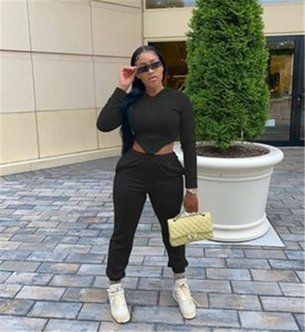 Women Small Waist Tracksuits Fashion Trend Long Sleeve Zipper Hooded Tops Elastic Waist Pant Sets Designer Female Autumn Casual Loose Suits
