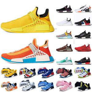 Pharrell Williams x Adidas NMD Human Race 2020 NMD R1 V2 Yeni İnsan Irkları Erkek Koşu Ayakkabı Büyük Boy 12 NMD R1 V2 insan ırkı Kadınlar Eğitmenler Spor ayakkabılar