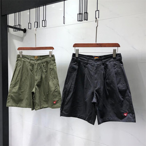 Embroidery Cargo Shorts For Men Board Clothing Casual Man Pants Hip Hop Running Summer Streetwear
