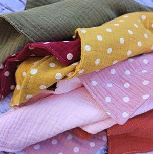 Baby Cotton Bibs Stuffs Bibs Chacifier Soft Saliva Toalla BPA Free Wooden Roed Feeding Baberos Burp Cloth Sea GWC5952