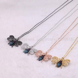 5 strands bugs necklace Insects bee pest pendants necklace small size jewelry 18