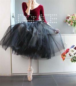 professional rehearsal platter ballet tutus practicing half ballet tutu pancake half tutus for girls blue pink lilac black