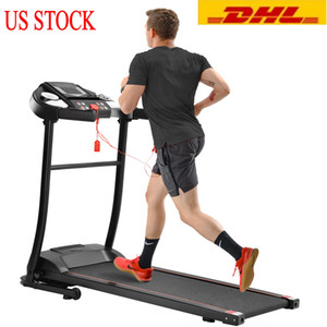 US Stock Treadmilles GT Easy Assembly Folding Electric Treadmill Motorized Running Machine Fitness Supplies Fitness Equipments MS039013BAA